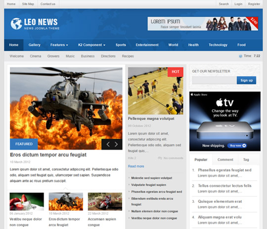 Leo News For Joomla 25 Scriptmafia Download Full Nulled Scripts