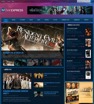 Leo Movie Express - Joomla 2.5 Template