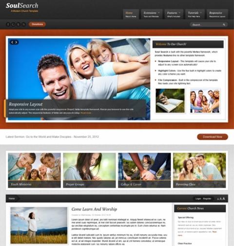 Shape5 Soul Search - December 2012 Joomla 2.5 Club Template