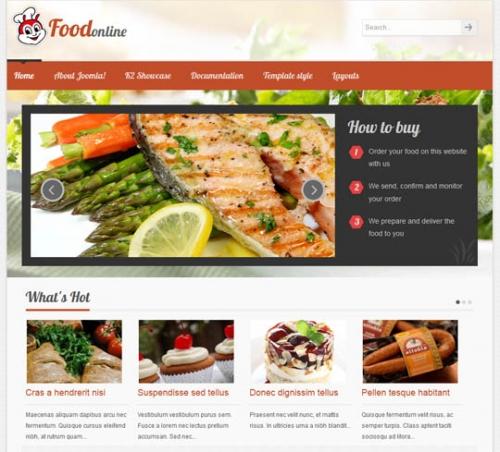 VTEM Food for Joomla 2.5 & 3.0
