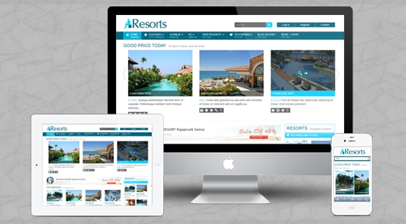 SJ Resorts - Responsive Joomla 2.5 Template