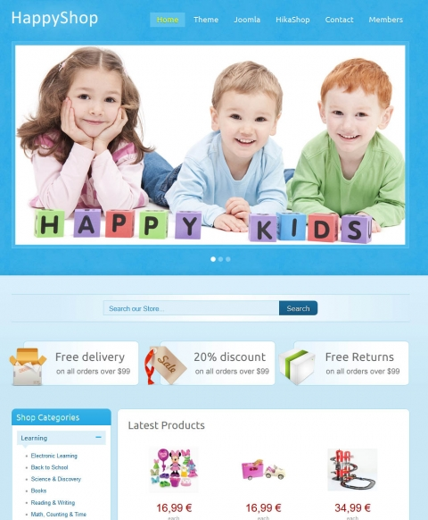 IT HappyShop for Joomla 2.5