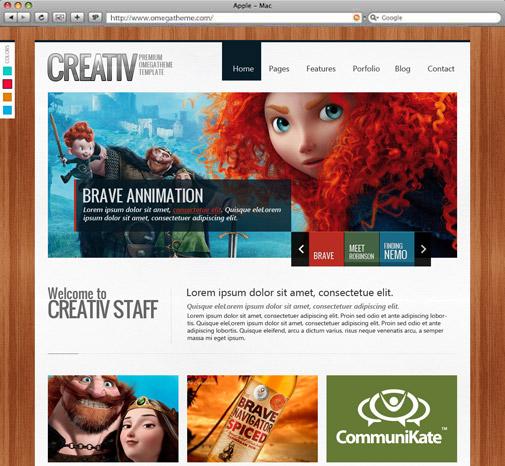 OT Creative Portfolio - Joomla 2.5 Template