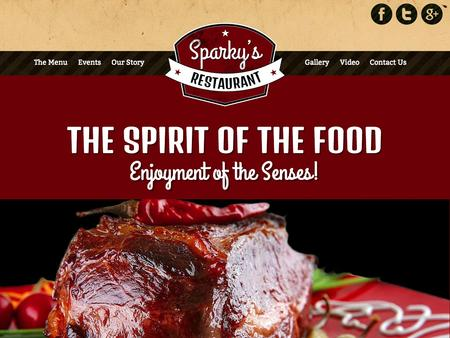 HOT Food Spirit for Joomla 2.5 & 3.0
