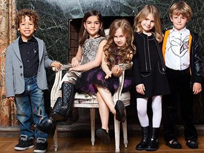 Детская одежда для девочек в стиле рок