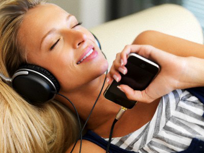 Музыка-способ расслабиться и уйти от проблем