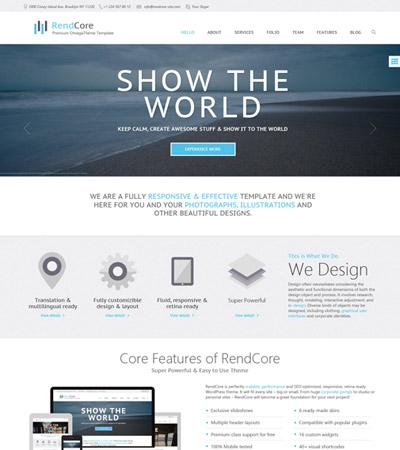 OT Rendcore - Premium Business & Portfolio Joomla 2.5 Template