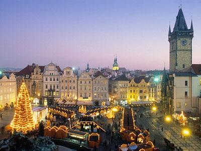 Новогодние каникулы в Праге