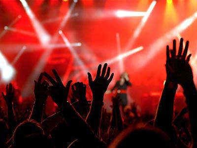 Аренда танцевального зала для рок-концерта