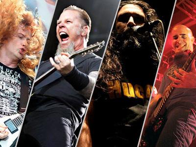 Тяжелые музыкальные стили: Thrash Metal