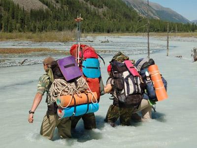 Туристическое снаряжение выбирайте в соответствии со сложностью похода