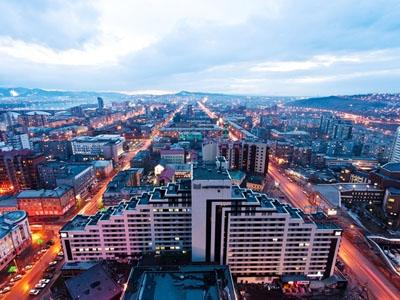 Транспорт города Красноярск