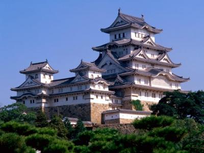 Япония. Замок белой цапли