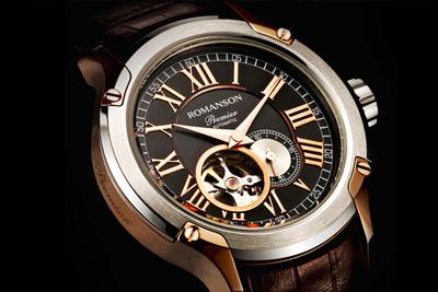 Уникальные часы Romanson