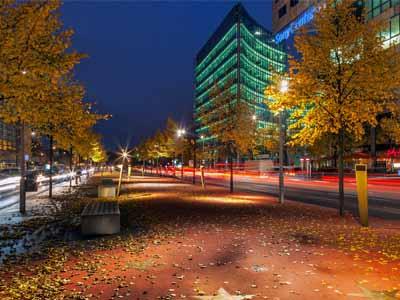 Самый популярный бульвар Берлина