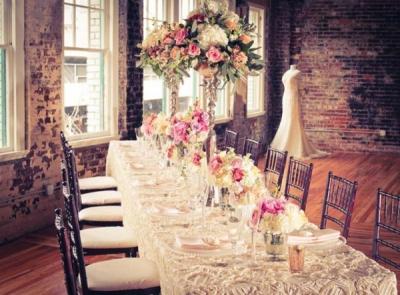 Оформление свадьбы в ретро стиле
