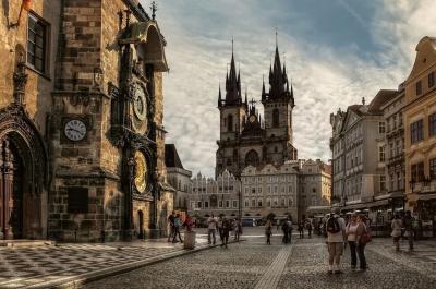 ическая Прага приоткрывает завесу тайны
