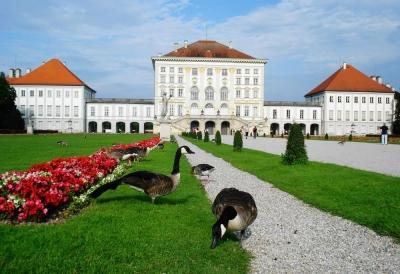 Достопримечательности Германии: дворец Нимфенбург в Мюнхене