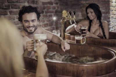 Пивная купель для spa-отдыха
