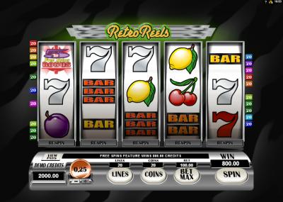 online slots bet