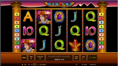 Book of Ra играть бесплатно в Джокер Монарх